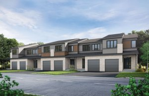 Heron - Elevation B1/Scheme 2 Elevation - 2,187 sqft, 3 Bedroom, 2.5 Bathroom - Cardel Homes Ottawa