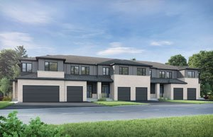 Wren - Elevation A1/Scheme 4 Elevation - 1,986 sqft, 3 Bedroom, 2.5 Bathroom - Cardel Homes Ottawa