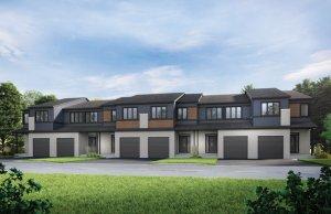 Wren - Elevation B1/Scheme 1 Elevation - 2,153 sqft, 3 Bedroom, 2.5 Bathroom - Cardel Homes Ottawa