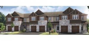 Aster 2 MC - ELEVATION A Elevation - 2,144 sqft, 3 Bedroom, 2.5 Bathroom - Cardel Homes Ottawa