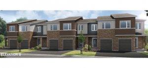 Aster 2 MC - ELEVATION B Elevation - 2,144 sqft, 3 Bedroom, 2.5 Bathroom - Cardel Homes Ottawa