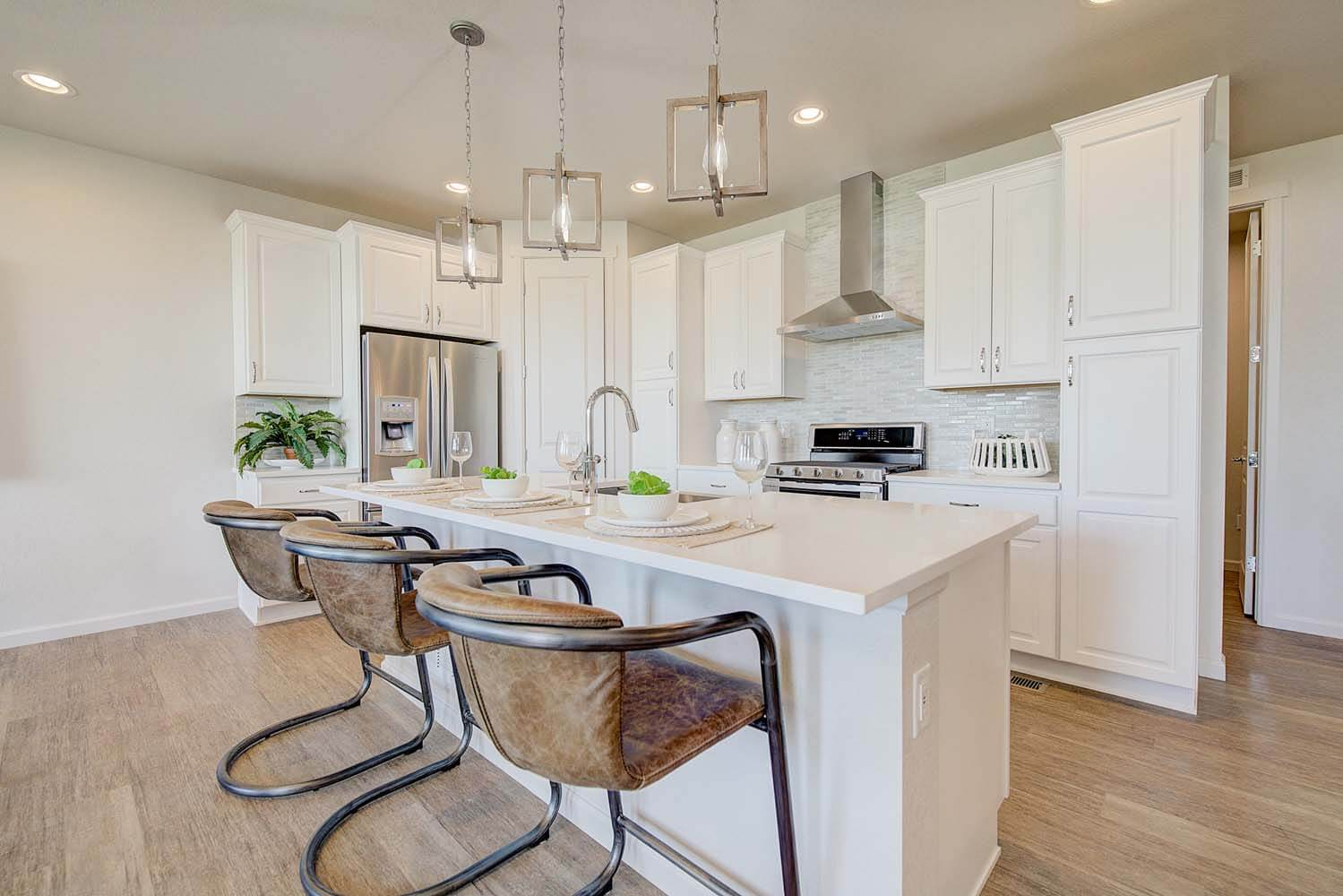 New Denver  Model Home Ponderosa in Lincoln Creek, located at 6839 Zebra Grass Lane, Parker, CO Built By Cardel Homes Denver