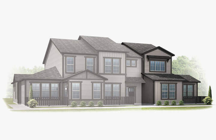 New Denver Single Family Home Quick Possession Juniper in Lincoln Creek, located at 11582 Dewey Street Built By Cardel Homes