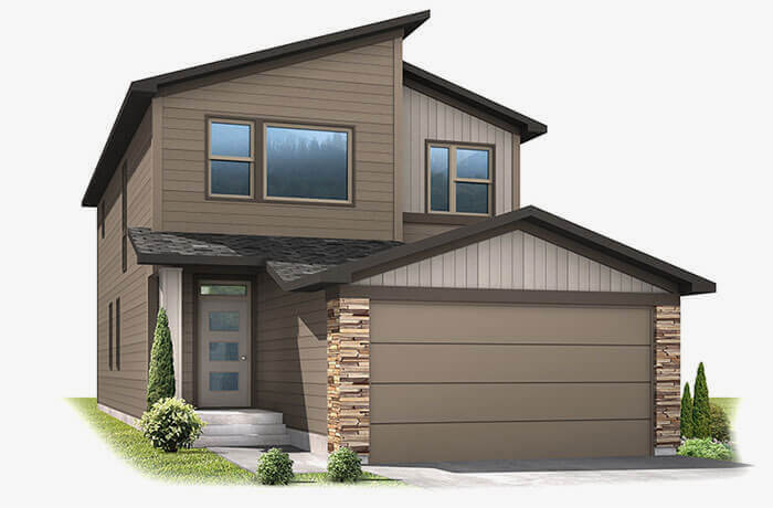 New Denver  Model Home Jett in Westminster Station, Built By Cardel Homes Denver