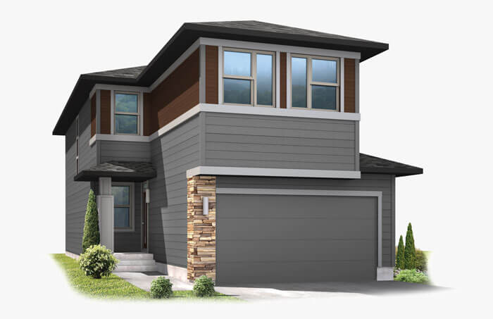 New Calgary Single Family Home Tiago in Shawnee Park, located at 6920 Canosa St, Denver Built By Cardel Homes Calgary