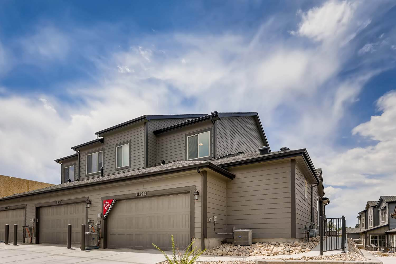 New Denver Single Family Home Quick Possession Juniper in Lincoln Creek, located at 11599 Dewey Street, Parker  Built By Cardel Homes
