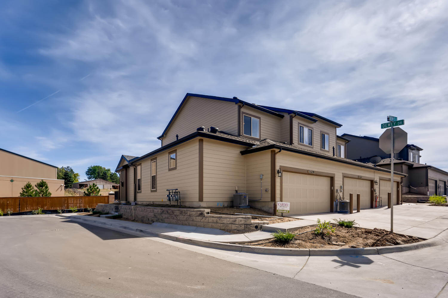 New Denver Single Family Home Quick Possession Juniper in Lincoln Creek, located at 11620 Dewey Street  Built By Cardel Homes Denver
