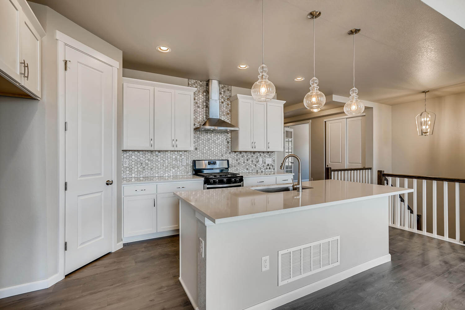 New Denver Single Family Home Quick Possession <b></b>Ponderosa in Lincoln Creek, located at 11819 Barrentine Loop, Parker Built By Cardel Homes Denver