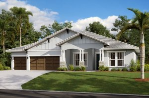 HENLEY2 - WO - Craftsman Elevation - 3,000 - 3,939 sqft, 4-5 Bedroom, 3-4 Bathroom - Cardel Homes Tampa