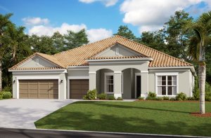 HENLEY2 - WO - Traditional Elevation - 3,000 - 3,939 sqft, 4-5 Bedroom, 3-4 Bathroom - Cardel Homes Tampa