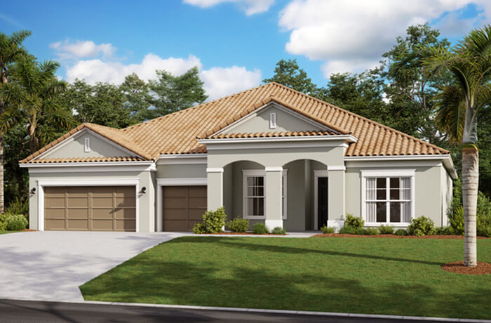 New home in HENLEY in Worthington, 3,000 - 3,939 SQFT, 4-5 Bedroom, 3-4 Bath, Starting at 529,990 - Cardel Homes Tampa