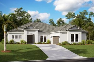 MARTIN 2 - WO - Traditional Elevation - 2,533 - 2,805 sqft, 3-4 Bedroom, 3 Bathroom - Cardel Homes Tampa