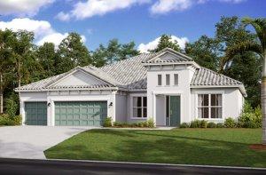 SAVANNAH 2 - WO - Mediterranean Elevation - 3,308 sqft, 4 Bedroom, 3 Bathroom - Cardel Homes Tampa