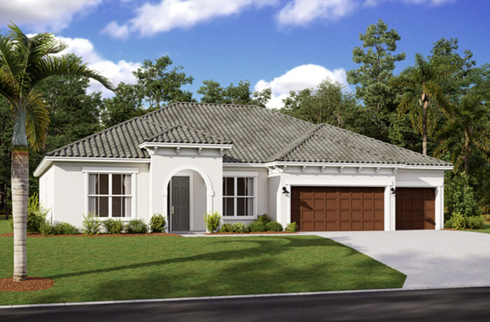 New home in WESLEY in Worthington, 2,830 - 3,228 SQFT, 4 Bedroom, 3-4 Bath, Starting at 509,990 - Cardel Homes Tampa