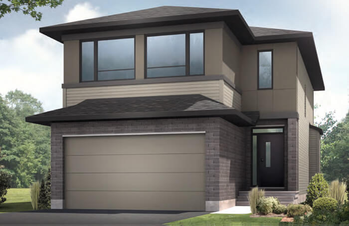 New Ottawa Single Family Home Quick Possession Auden in EdenWylde, located at 32 Aridus Crescent (Lot 63) Built By Cardel Homes