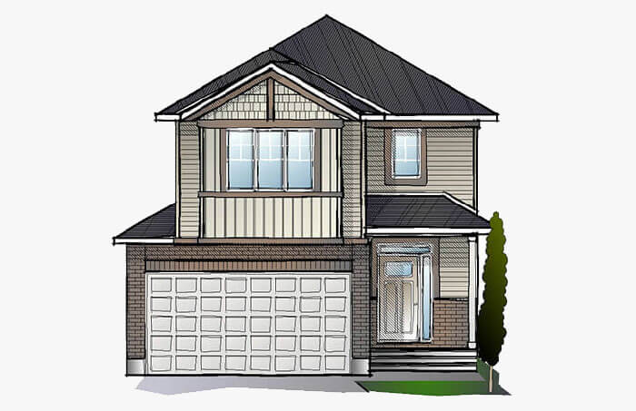 New Ottawa Single Family Home Quick Possession Minetta in EdenWylde, located at 34 Aridus Crescent (Lot 6) Built By Cardel Homes Ottawa