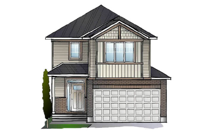New Ottawa Single Family Home Quick Possession Minetta in EdenWylde, located at 34 Aridus Crescent (Lot 62) Built By Cardel Homes