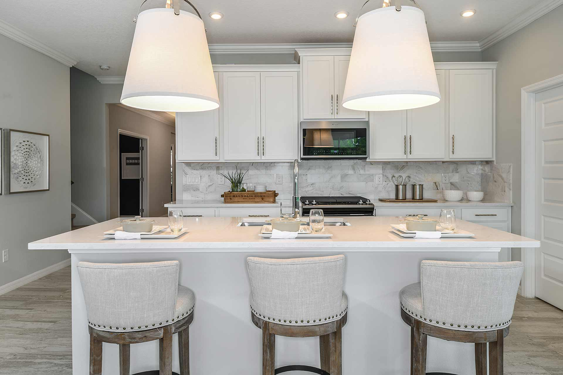 New Tampa  Model Home Northwood in Sandhill Ridge, located at 11411 Tanner Ridge Place (Lot 21) Built By Cardel Homes Tampa