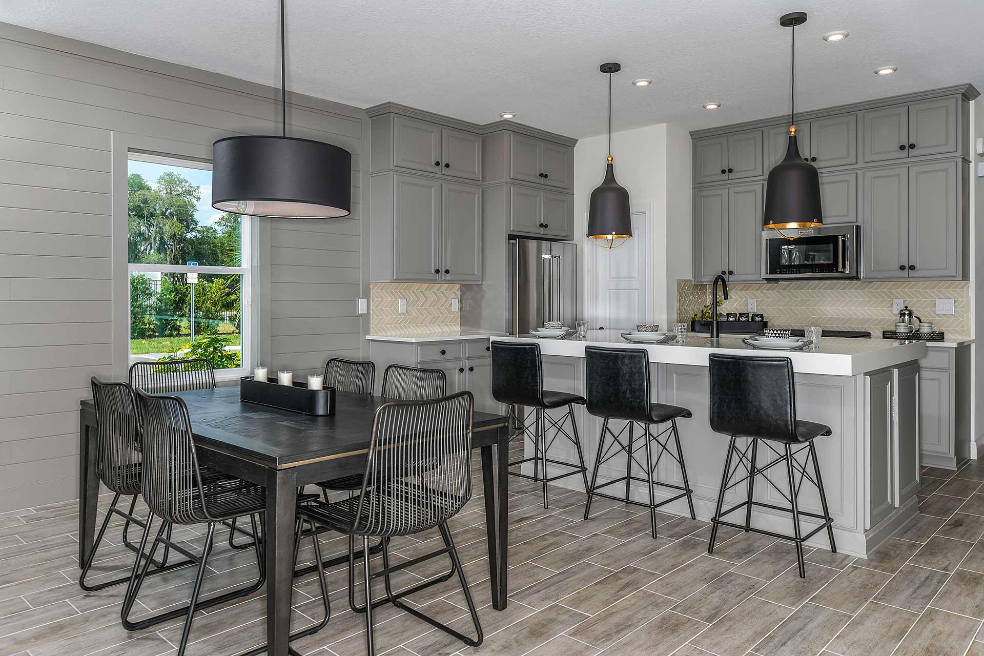 New Tampa  Model Home Southampton in Sandhill Ridge, located at 11409 Tanner Ridge Place (Lot 32) Built By Cardel Homes Tampa