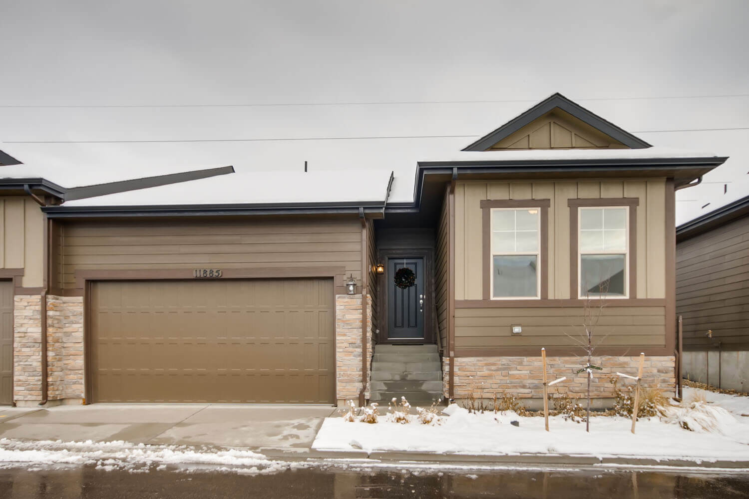 New Denver Single Family Home Quick Possession <b></b>Willow in Lincoln Creek, located at 11885 Barrentine Loop, Parker Built By Cardel Homes