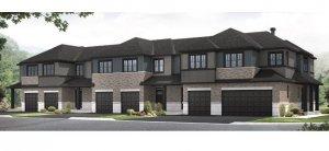 Balsa EW - Elevation A Elevation - 2,064 sqft, 3 Bedroom, 2.5 Bathroom - Cardel Homes Ottawa