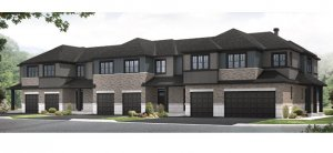 Yarro 1 EW - Elevation A Elevation - 2,098 sqft, 3 Bedroom, 2.5 Bathroom - Cardel Homes Ottawa