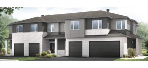 Yarro 1 EW - Elevation B Elevation - 2,098 sqft, 3 Bedroom, 2.5 Bathroom - Cardel Homes Ottawa