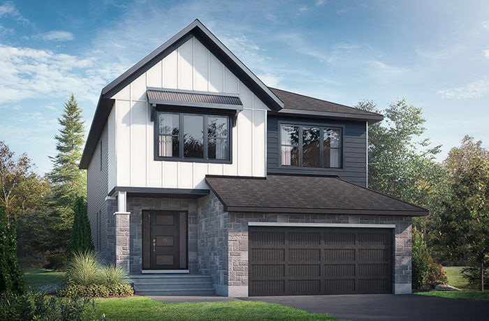 New home in <B></B>RAYBURN in Blackstone in Kanata South, 2,888 SQFT, 4-5 Bedroom, 2.5 Bath, Starting at 809,000 - Cardel Homes Ottawa