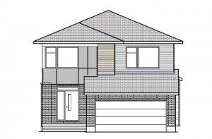 RAYBURN BSPS - Modern B3 Elevation - 2,888 sqft, 4-5 Bedroom, 2.5 Bathroom - Cardel Homes Ottawa