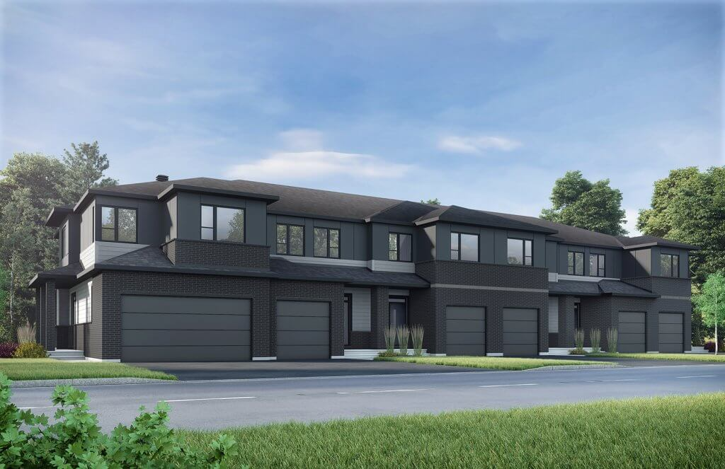 A1_S3new Bird Elevation - 2,187 sqft, 3 Bedroom, 2.5 Bathroom - Cardel Homes Ottawa