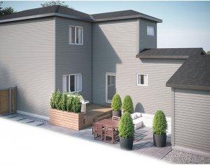 EVO3-C2-1185 Elevation - 1,608 sqft, 3 Bedroom, 2.5 Bathroom - Cardel Homes Calgary