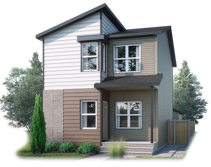 New home in EVO 3 in Walden, 1,608 SQFT, 3 Bedroom, 2.5 Bath, Starting at 410,000 - Cardel Homes Calgary