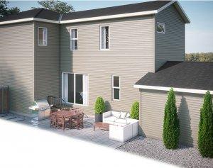 EVO4-C2-1191 Elevation - 1,960 sqft, 3 Bedroom, 2.5 Bathroom - Cardel Homes Calgary
