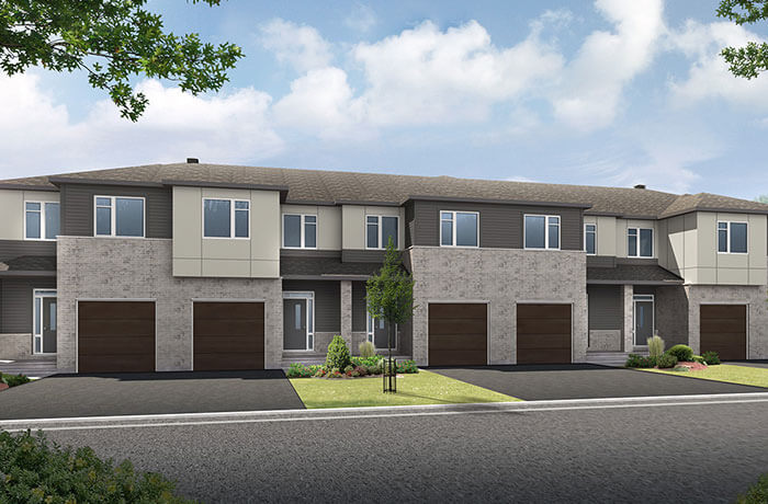 New home in TEAK in Millers Crossing in Carleton Place, 2,176 SQFT, 3 Bedroom, 2.5 Bath, Starting at 385,000 - Cardel Homes Ottawa