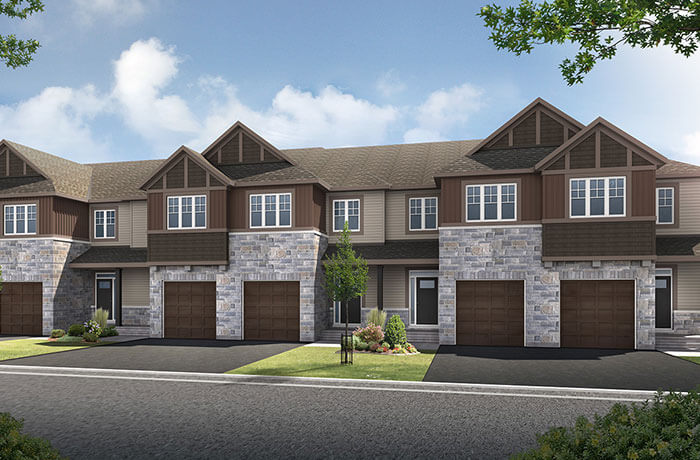 New home in VERBENA in Millers Crossing in Carleton Place, 2,023 SQFT, 3 Bedroom, 2.5 Bath, Starting at 378,000 - Cardel Homes Ottawa