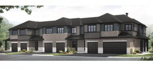edenwylde-towns-a Elevation - 2,064 sqft, 3 Bedroom, 2.5 Bathroom - Cardel Homes Ottawa
