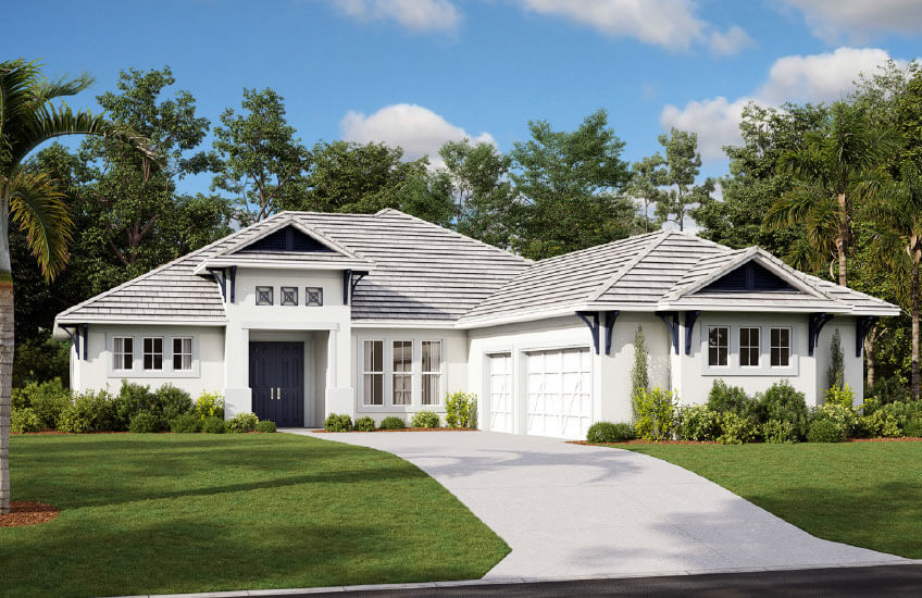 New Tampa Single Family Home Quick Possession Martin in Worthington, located at 4620 Antrim Drive  Built By Cardel Homes