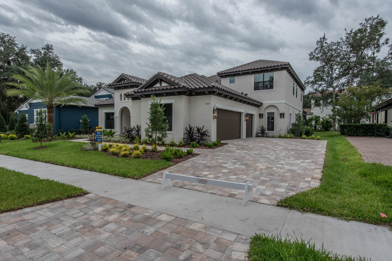 New Tampa Single Family Home Quick Possession Henley in The Preserve at FishHawk Ranch, located at 5321 Osprey Ridge Dr ( Lot 2, Block 1) Lithia, FL 33547 Built By Cardel Homes Tampa