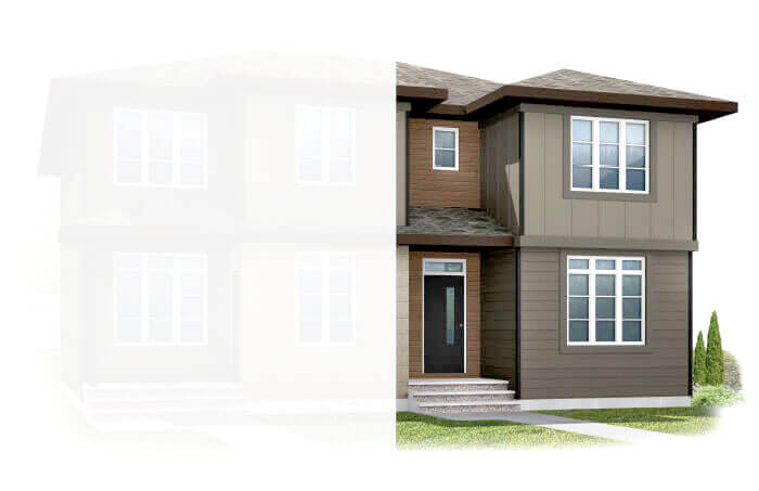 New Calgary Single Family Home Quick Possession Iris 1 in Walden, located at 1350 WALDEN DRIVE SE Built By Cardel Homes