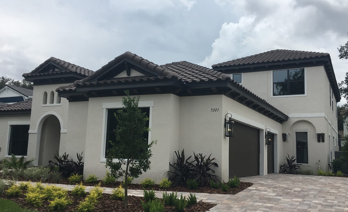 New Tampa Single Family Home Quick Possession Henley in The Preserve at FishHawk Ranch, located at 5321 Osprey Ridge Dr ( Lot 2, Block 1) Lithia, FL 33547 Built By Cardel Homes