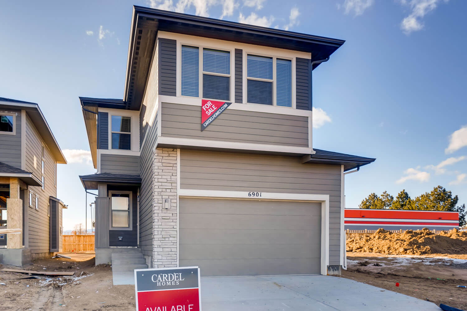 New Denver Single Family Home Quick Possession Tiago in Westminster Station, located at 6901 Eliot Street Built By Cardel Homes