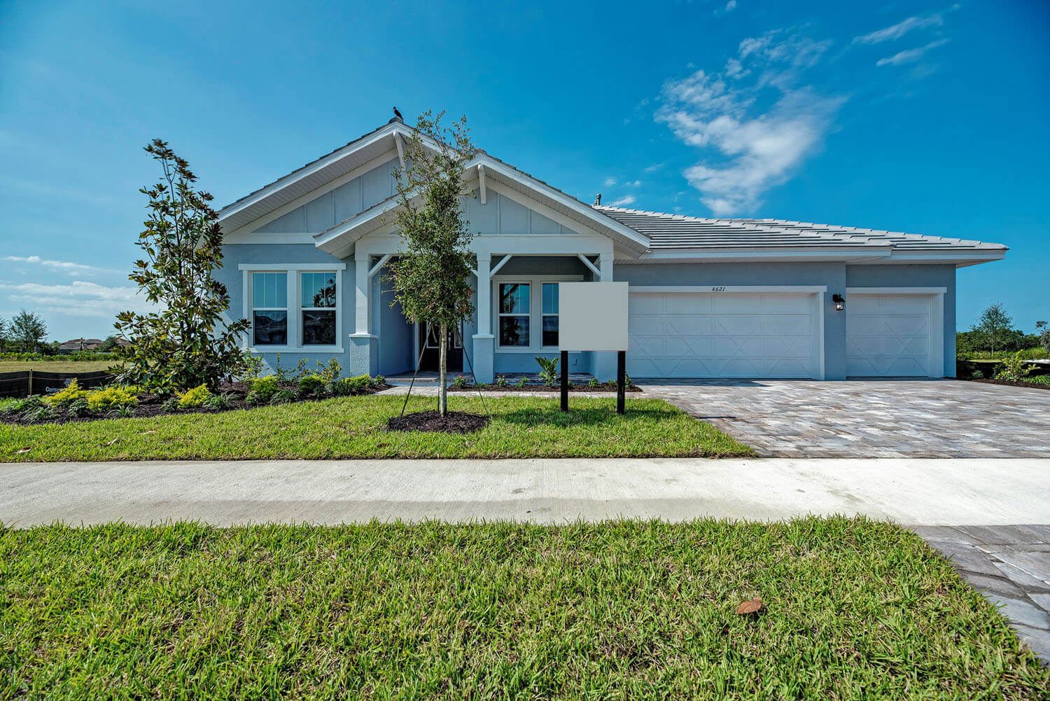 New Tampa Single Family Home Quick Possession Barrett in Worthington, located at 4621 Antrim Drive Built By Cardel Homes