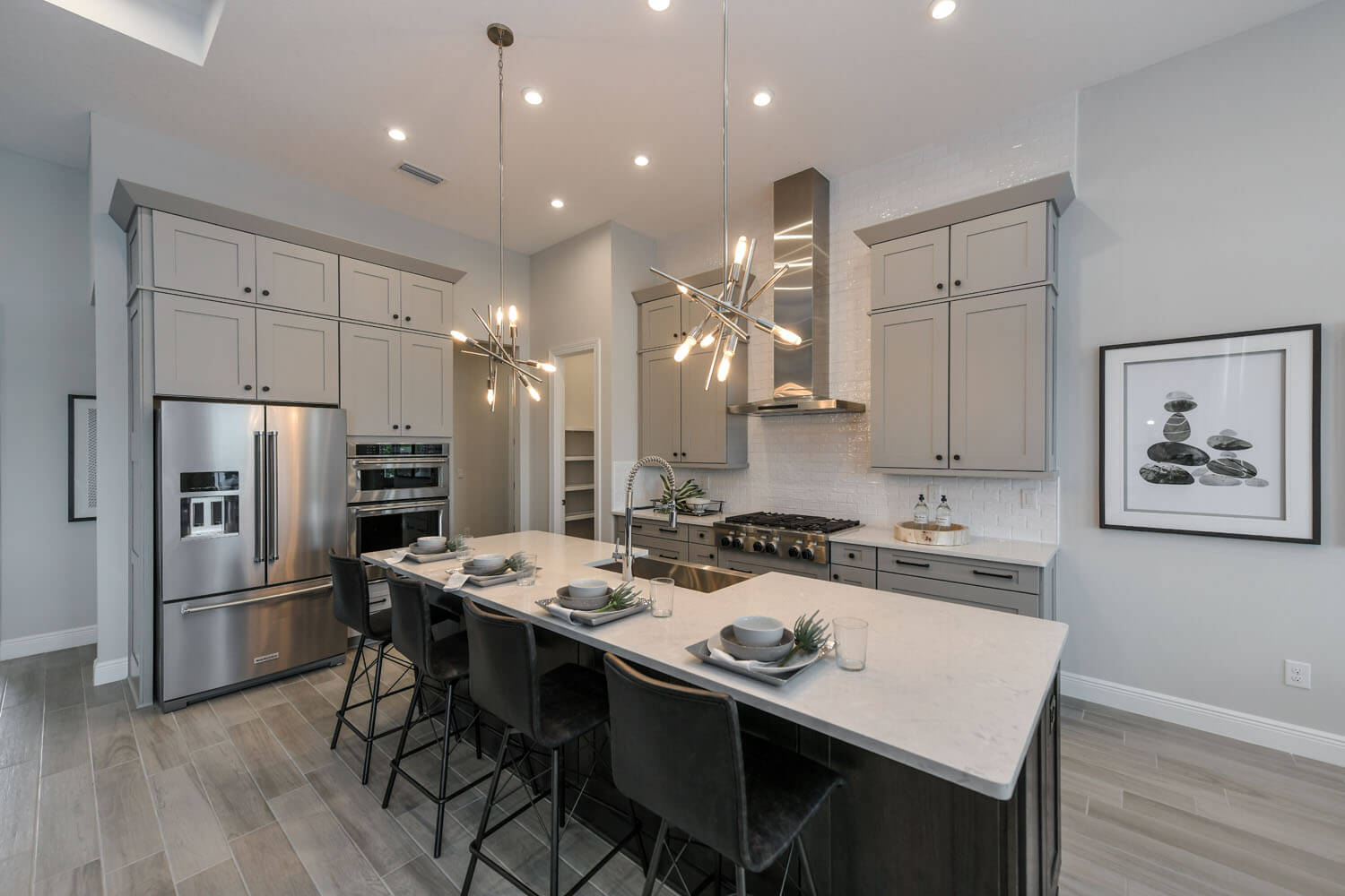 New Tampa  Model Home Martin in Worthington, located at 4612 Antrim Drive, Sarasota, FL Built By Cardel Homes Tampa