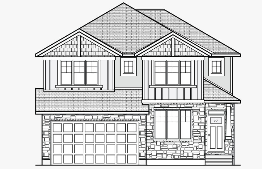 New Ottawa Single Family Home Quick Possession Nichols in Creekside, located at 765 Kirkham Crescent, Richmond Built By Cardel Homes Ottawa