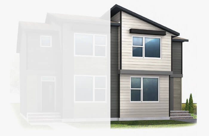 New Calgary Single Family Home Quick Possession Indigo 1 in Walden, located at 37 WALCREST GATE SE Built By Cardel Homes Calgary