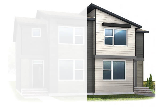 New Calgary Single Family Home Quick Possession Indigo 1 in Walden, located at 37 WALCREST GATE SE Built By Cardel Homes