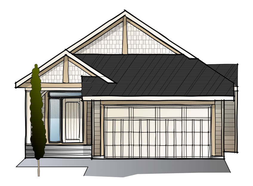 New home in SYCAMORE in Shawnee Park, 2,457 SQFT, 3 Bedroom, 2.5 Bath, Starting at 670,000 - Cardel Homes Calgary