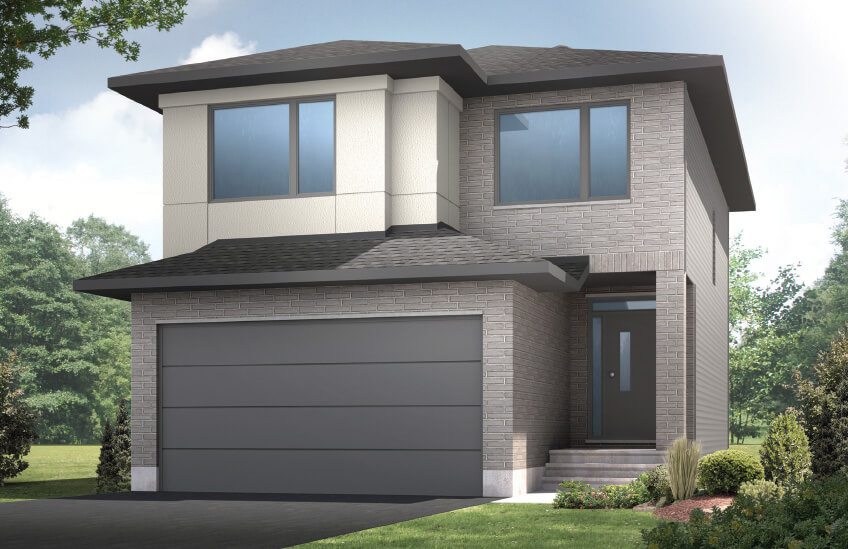 New Ottawa Single Family Home Quick Possession Cole in Blackstone in Kanata South, located at 535 Dressage Avenue Built By Cardel Homes Ottawa