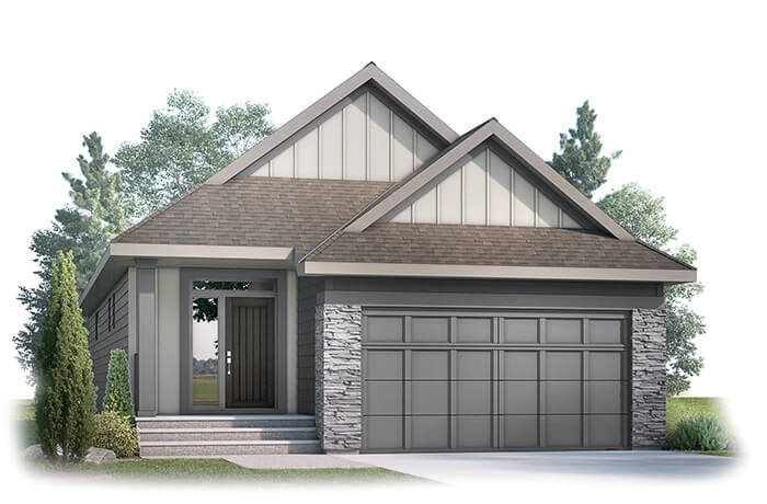 New home in SYCAMORE in Shawnee Park, 1,521 SQFT, 3 Bedroom, 2.5 Bath, Starting at 670,000 - Cardel Homes Calgary