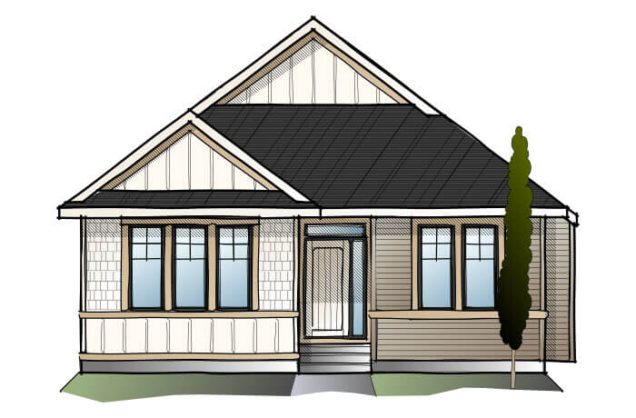 New home in CAMBRIA COURT 2 in Shawnee Park, 1,472 SQFT, 4 Bedroom, 3 Bath, Starting at 670,000 - Cardel Homes Calgary